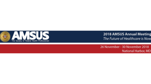 2018 AMSUS Annual Meeting The Future of Healthcare is Now