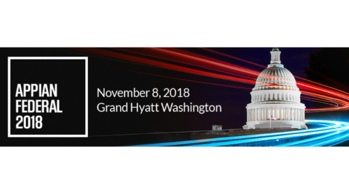 Appian Federal 2018 at the Grand Hyatt Washington