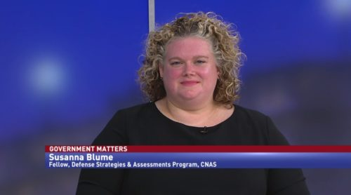 Government Matters with Susanna Blume