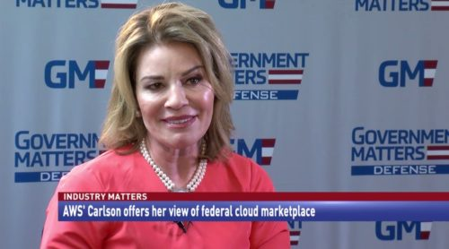 Industry Matters AWS' Carlson offers her view of federal cloud marketplace