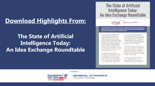 Download Highlights from: The State of Artificial Intelligence Today: An Idea Exchange Roundtable