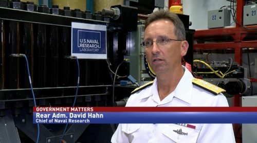 Government Matters with Rear Admiral David Hahn