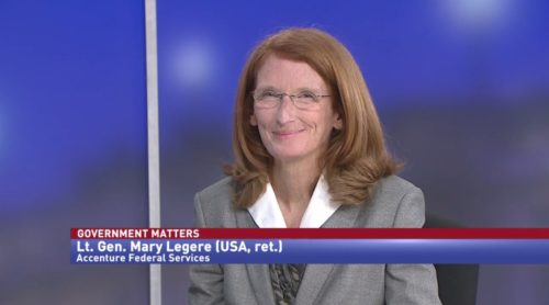 Government Matters with Lt. Gen. Mary Legere