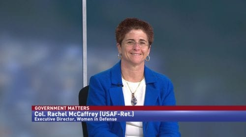 Government Matters with Col. Rachel McCaffrey