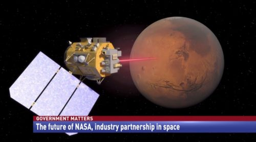 Government Matters The future of NASA, industry partnership in space