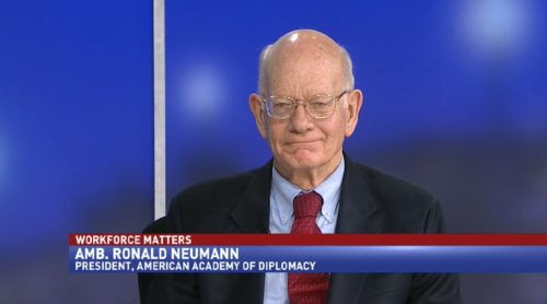 Workforce Matters with Amb. Ronald Neumann