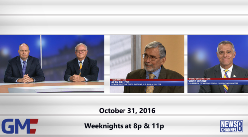 Government Matters October 31, 2016