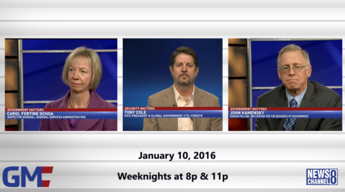 Government Matters January 20, 2016