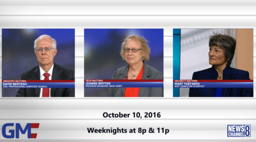 Government Matters October 10, 2016