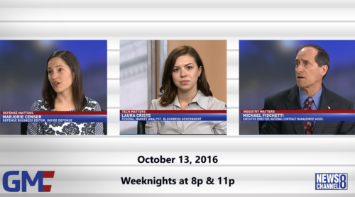 Government Matters October 13, 2016