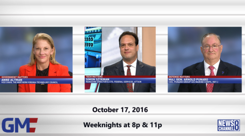 Government Matters October 17, 2016