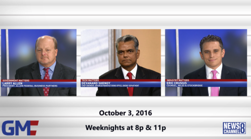 Government Matters October 3, 2016