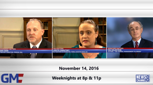 Government Matters November 14, 2016
