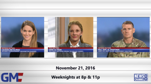 Government Matters November 21, 2016