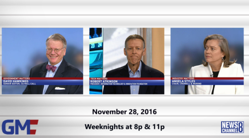 Government Matters November 28, 2016