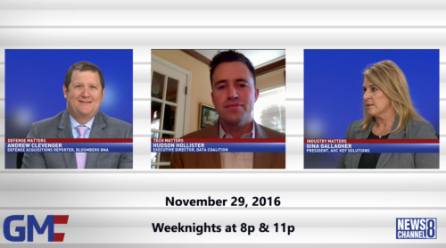 Government Matters November 29, 2016