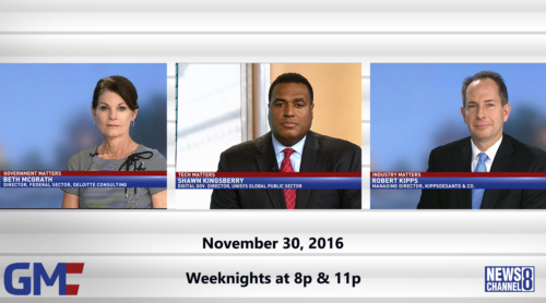 Government Matters November 30, 2016