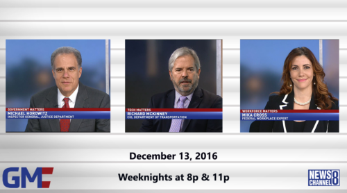 Government Matters December 13, 2016