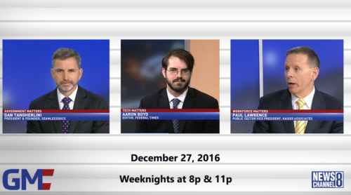 Government Matters December 27, 2016