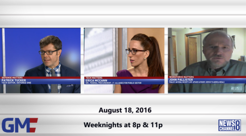 Government Matters August 18, 2016