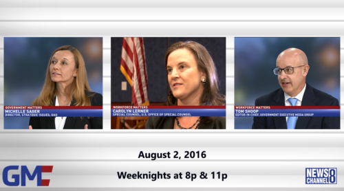 Government Matters August 2, 2016