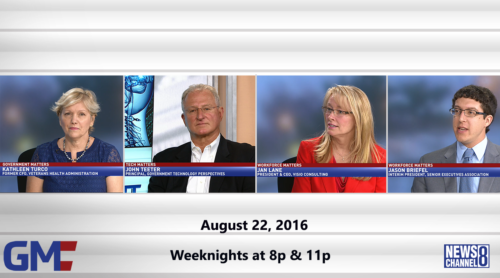 Government Matters August 22, 2016