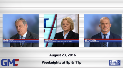 Government Matters August 23, 2016