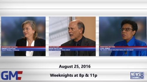 Government Matters August 25, 2016