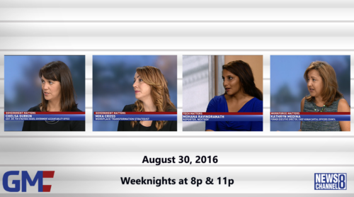 Government Matters August 30, 2016