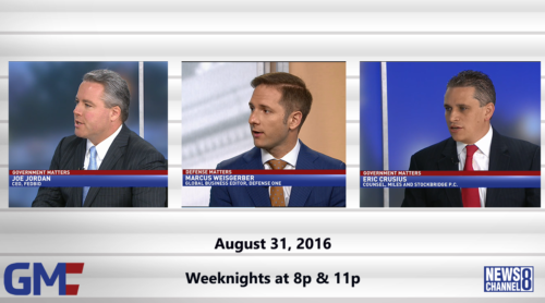 Government Matters August 31, 2016