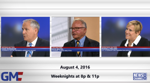 Government Matters August 4, 2016