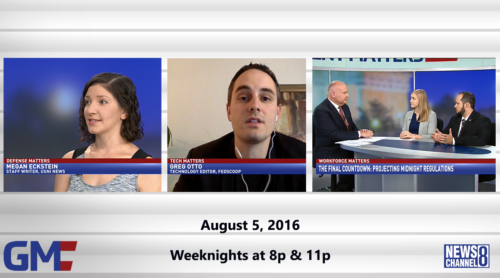 Government Matters August 5, 2016