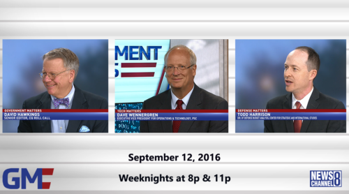 Government Matters September 12, 2016