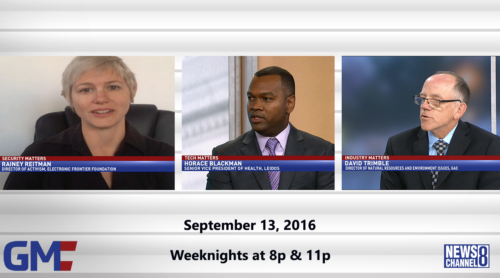 Government Matters September 13, 2016