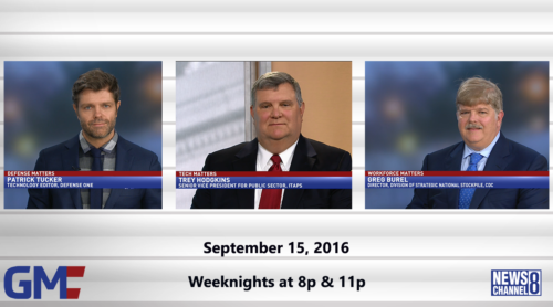 Government Matters September 15, 2016