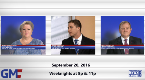 Government Matters September 20, 2016