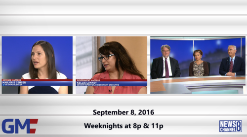 Government Matters September 8, 2016