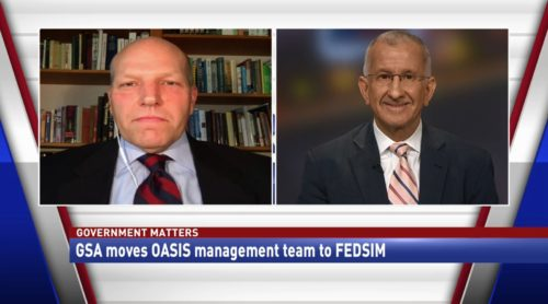 Government Matters GSA moves OASIS management team to FEDSIM