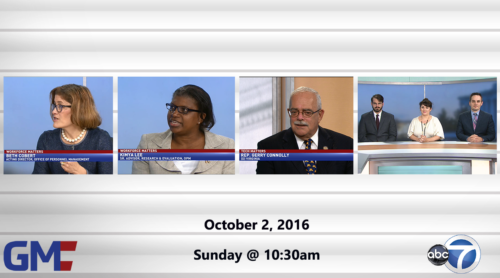 Government Matters October 2, 2016