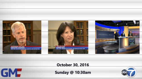 Government Matters October 30, 2016