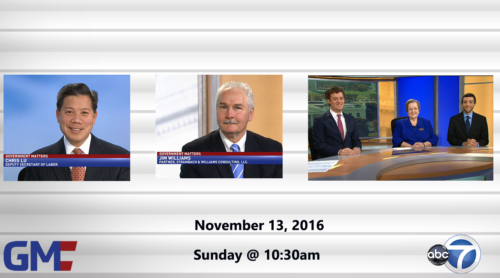 Government Matters November 13, 2016