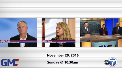 Government Matters November 20, 2016