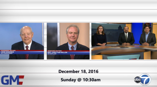 Government Matters December 18, 2016