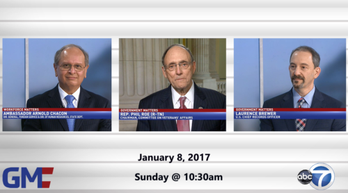 Government Matters January 8, 2017