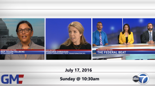 Government Matters July 17, 2016