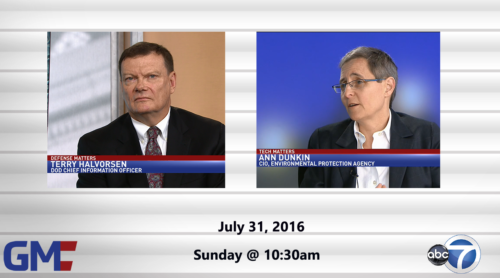 Government Matters July 31, 2016