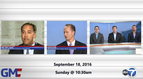 Government Matters September 18, 2016