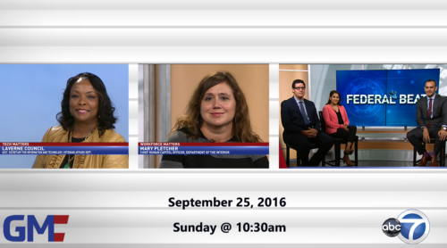Government Matters September 25, 2016