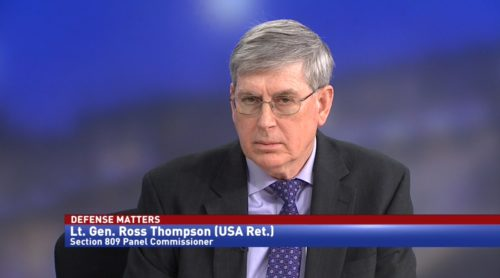 Defense Matters with Lt. General Ross Thompson