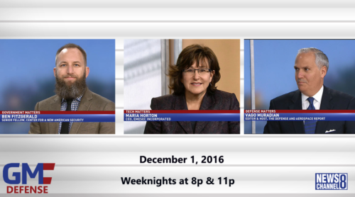 Government Matters December 1, 2016